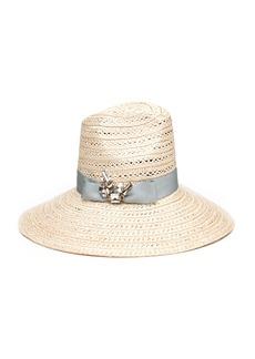 Eugenia Kim Carmen Sun Hat w/ Hat Band & Brooch