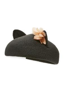Eugenia Kim Caterina Braided Cat-Ear Beret Hat