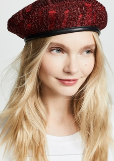 79c543d4d2854 Eugenia Kim Cher Leather Beret