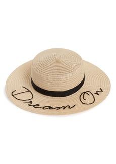 Eugenia Kim Colette Dream On Boater Hat