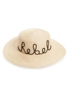 Eugenia Kim Colette Rebel Boater Hat
