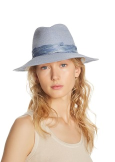 Eugenia Kim Courtney Feather-Trim Fedora