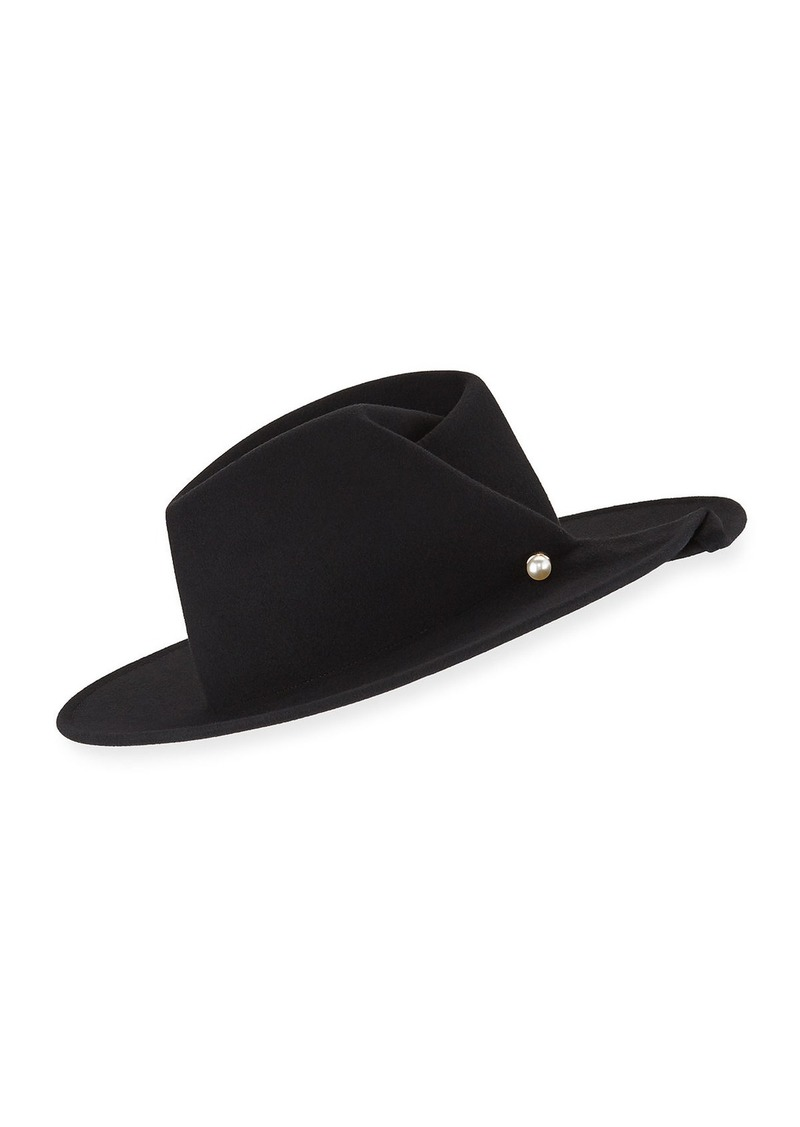 Eugenia Kim Giovanna Wool Fedora Hat