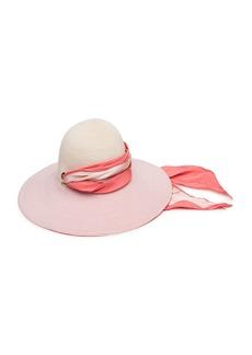 Eugenia Kim Honey Floppy Hemp Sun Hat with Satin Band