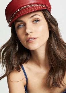 Eugenia Kim Marina Leather Hat