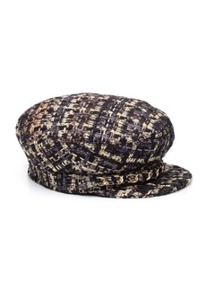 Eugenia Kim Marina Tweed Marine Cap