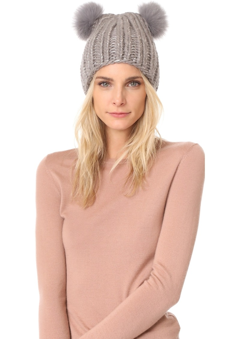 7c2cc1b7dea On Sale today! Eugenia Kim Eugenia Kim Mimi Pom Pom Beanie Hat