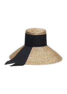 Eugenia Kim Mirabel Straw Sun Hat w/ Grosgrain Hat Band