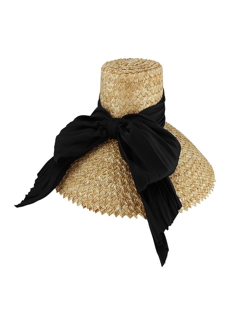 ee6e396f5c174 Eugenia Kim Eugenia Kim Mirabel Straw Sun Hat w  Large Satin Bow ...