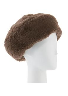 Eugenia Kim Mishka Faux-Fur Beret Hat