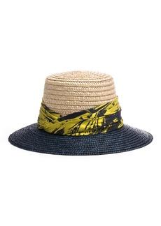 Eugenia Kim Stevie Two-Tone Straw Sun Hat