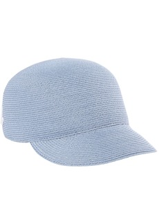 Eugenia Kim Woman Bo Dream On Embroidered Hemp Cap Light Blue