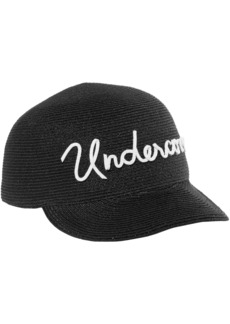 Eugenia Kim Woman Bo Embroidered Woven Baseball Cap Black