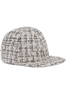 Eugenia Kim Woman Darien Bouclé-tweed Baseball Cap Ivory