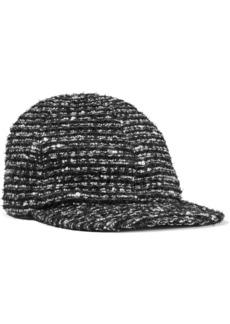 Eugenia Kim Woman Darien Cotton-blend Tweed Cap Black
