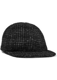 Eugenia Kim Woman Darien Metallic Tweed Cap Black