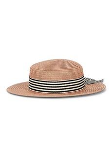 Eugenia Kim Women's Brigitte Boater Hat - Pink