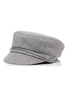 Eugenia Kim Women's Elyse Cashmere Felt Newsboy Cap - Light Gray
