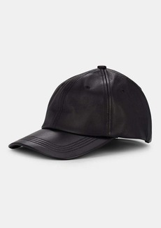 Eugenia Kim Women's Leather Baseball Cap - Black