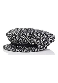 Eugenia Kim Women's Marina Wool-Blend Newsboy Cap - Black