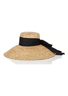 Eugenia Kim Women's Mirabel Satin-Bow Straw Hat - Natural