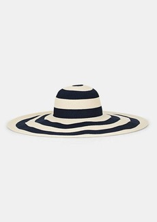 Eugenia Kim Women's Sunny Straw Sun Hat - Navy