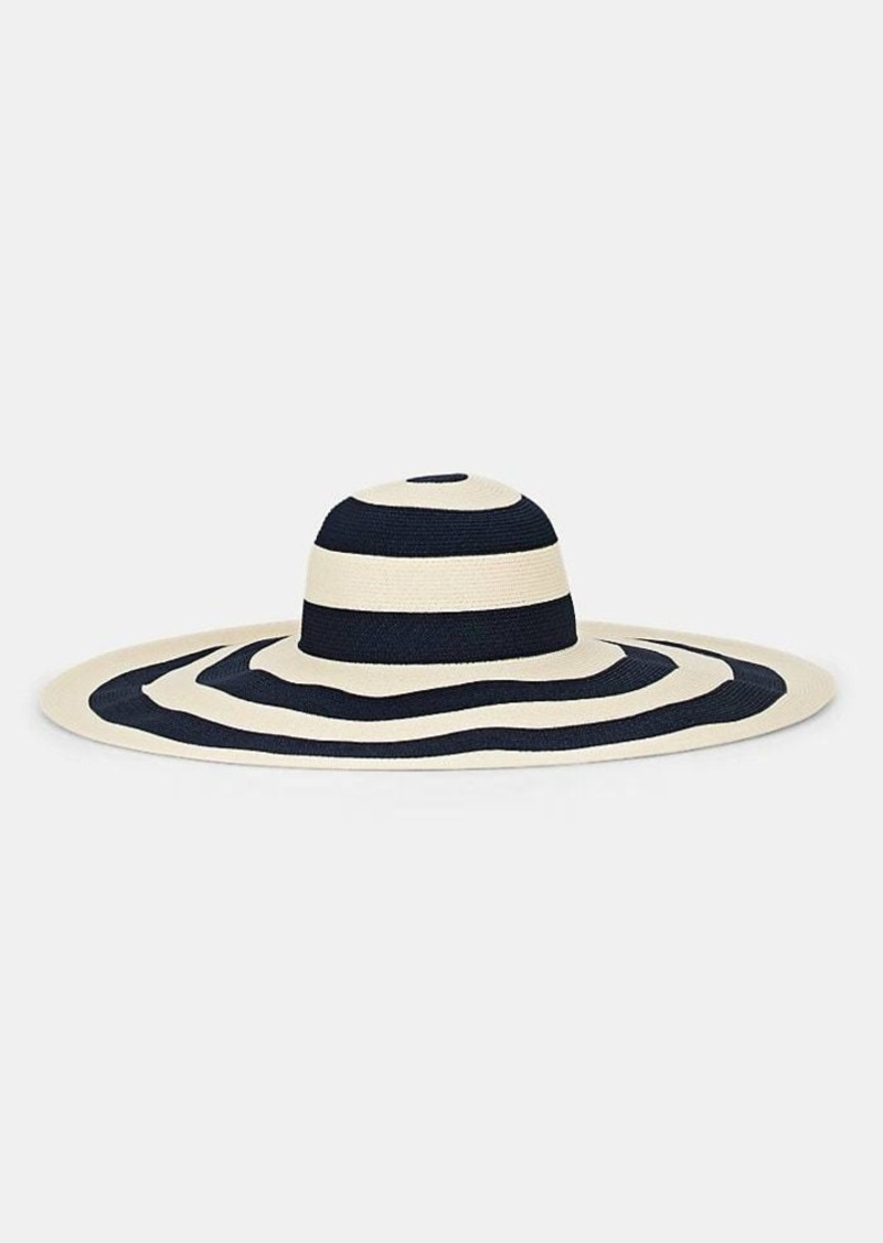 Eugenia Kim Women's Sunny Straw Sun Hat - Navy