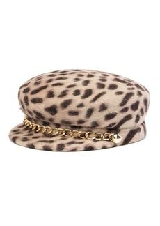 Eugenia Kim Genuine Rabbit Fur Sabrina Fisherman Chain Hat