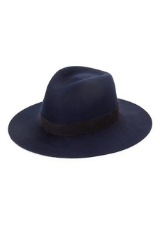 Eugenia Kim Georgina Mohair-Blend Band Wool Fedora