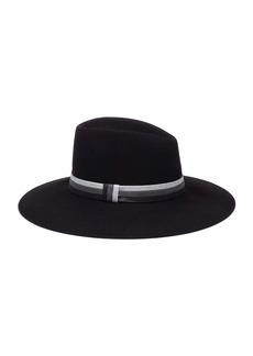 Eugenia Kim Harlowe Wool Panama Hat w/ Colorblock Band