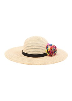 Eugenia Kim Honey Multi Pom Floppy Hat