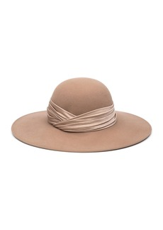 Eugenia Kim Honey Wool Large Brim Hat