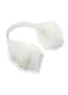 Eugenia Kim Janine Leather And Faux Fur Earmuffs