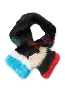 Eugenia Kim Kira Rabbit-Fur Scarf