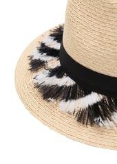 Eugenia Kim Lillan Hat W/ Feathers