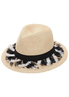 Eugenia Kim Lillan Hat W/ Feathers