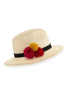 Eugenia Kim Lillian Hemp-Blend Fedora Hat  Ivory