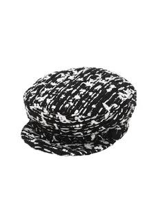 Eugenia Kim Marina Boucle Hat W/ Silver Chain