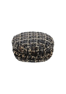 Eugenia Kim Marina Cotton Blend Tweed Cap