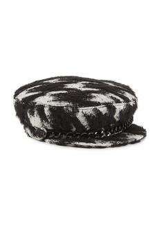 Eugenia Kim Marina Cotton/Mohair-Blend Newsboy Hat