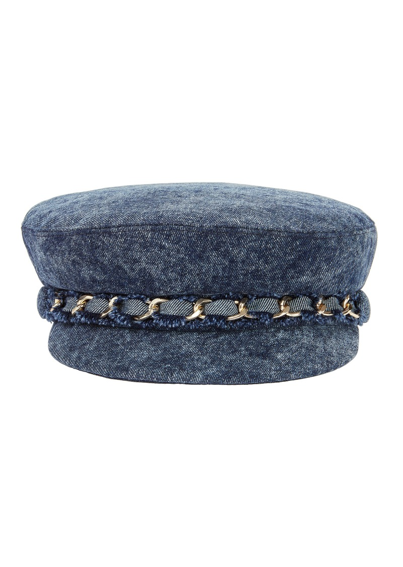 Eugenia Kim Marina Denim Newsboy Cap
