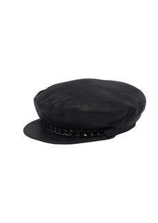 Eugenia Kim Marina Linen Hat W/ Chain