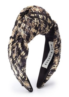 Eugenia Kim Maryn Knotted Tweed Headband