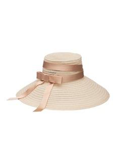 Eugenia Kim Mirabel Open-Weave Hemp Sun Hat