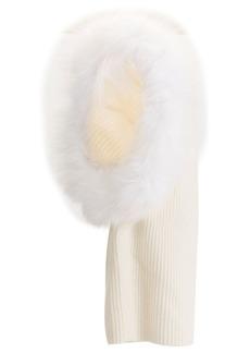 Eugenia Kim Paulina fur-trimmed hood