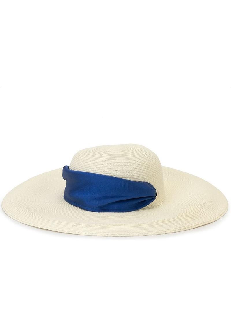 Eugenia Kim ribbon-detail sun hat