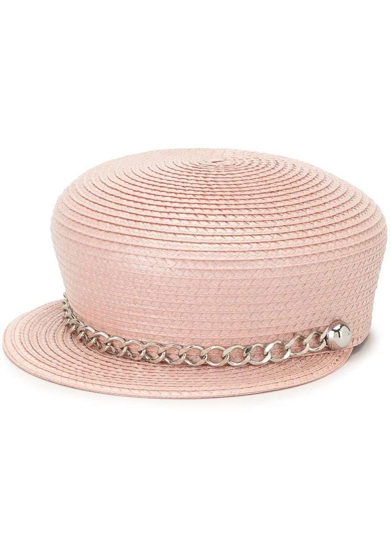 Eugenia Kim Sabrina chain-trim hat