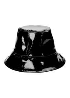 Eugenia Kim Toby Patent Leather Bucket Hat
