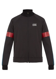 Every Second Counts Track logo-print performance jacket