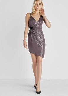 Asymmetrical Grecian Mini Dress